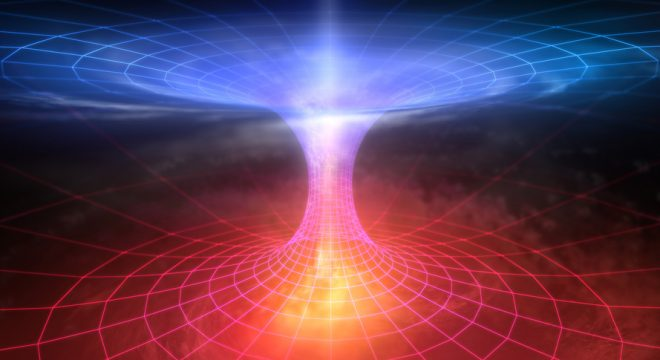 Abstract Teleportation in the wormhole
