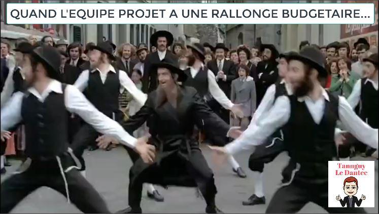 QUAND L'ÉQUIPE PROJET A UNE RALLONGE BUDGETAIRE ?