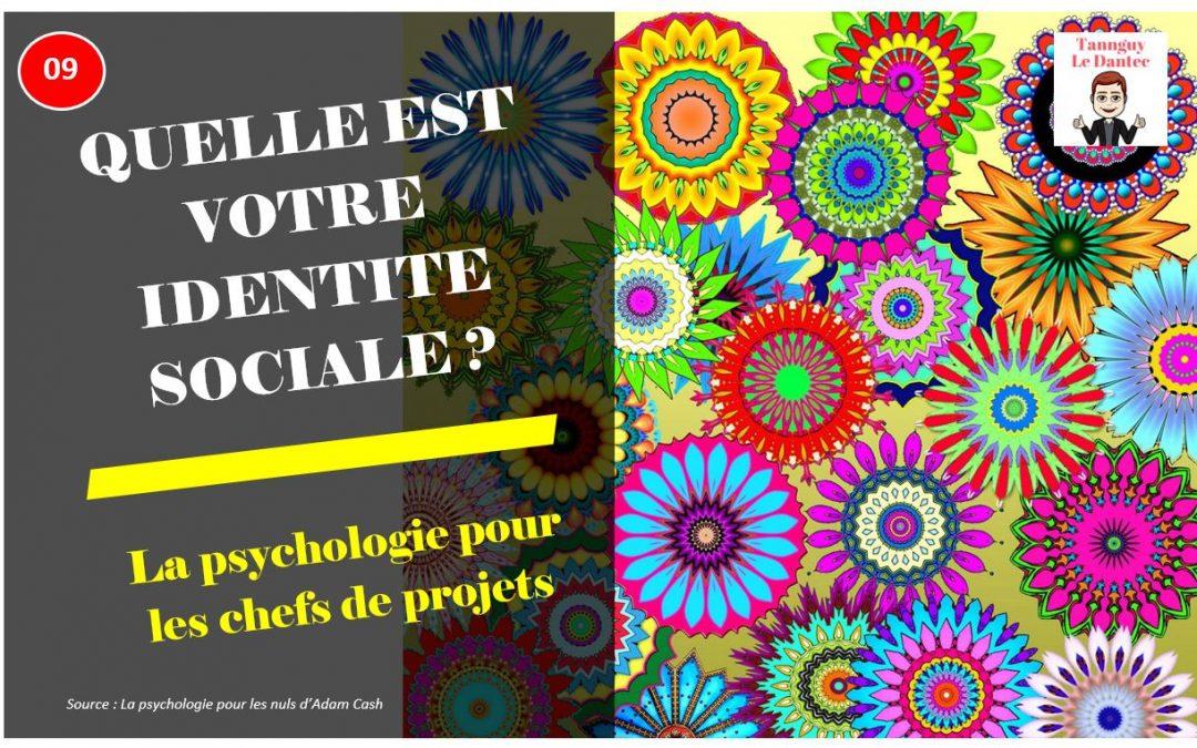 QUELLE EST VOTRE IDENTITE SOCIALE ? -L2PLCDP N°9